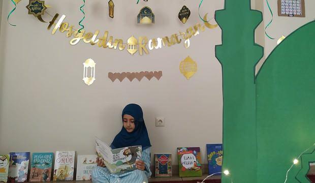 Annelerle çocukları el ele verdi ramazan coşkusu evlere taşındı