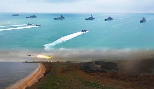 Rusya'dan Kırım'da askeri tatbikat: 10 bin asker, 40 savaş gemisi