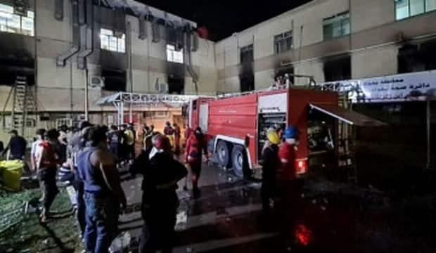 Bağdat'ta hastanede facia! 40 kişi hayatını kaybetti