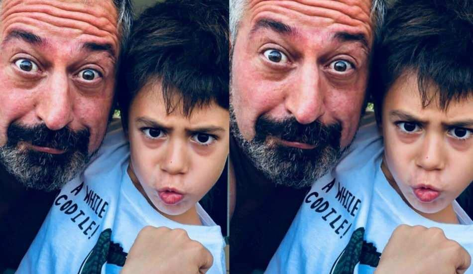 Cem Yılmaz'a oğlu Kemal'den doğum günü sürprizi!