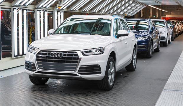 Çip krizi Audi'yi vurdu! Üretim durdu
