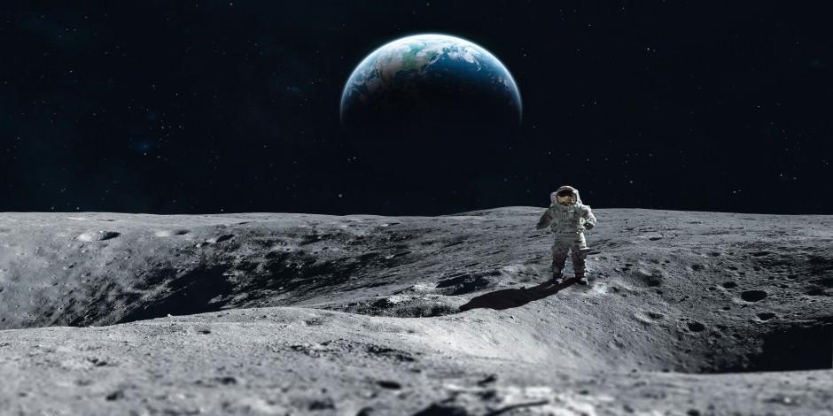 Çocuklara özel Ay kraterine gezinti