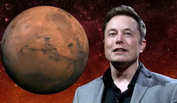 Elon Musk'tan Mars uyarısı: Canlı dönemeyebilirsiniz