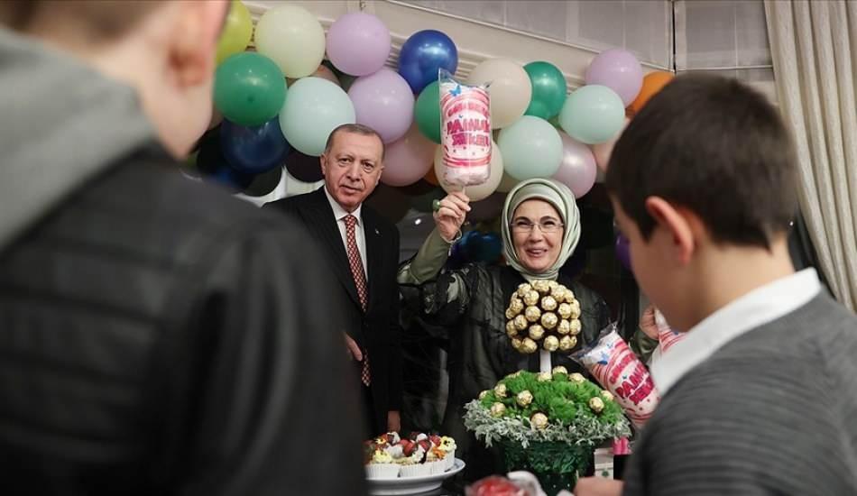 Emine Erdoğan'dan Sevgi Evlerindeki çocukları ağırladıkları iftara ilişkin paylaşım!