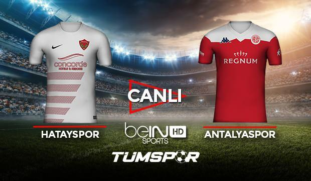 Hatayspor Antalyaspor maçı canlı izle! BeIN Sports Hatay Antalya maçı canlı skor takip