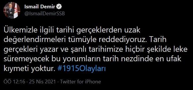 https://twitter.com/IsmailDemirSSB/status/1386066655219011584