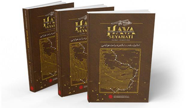 'İstanbul-Kudüs-İskenderiye Hava Seyahati kitabı