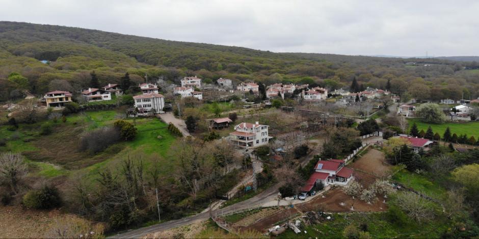 İstanbul'da şehrin içinde 600 yıllık köy