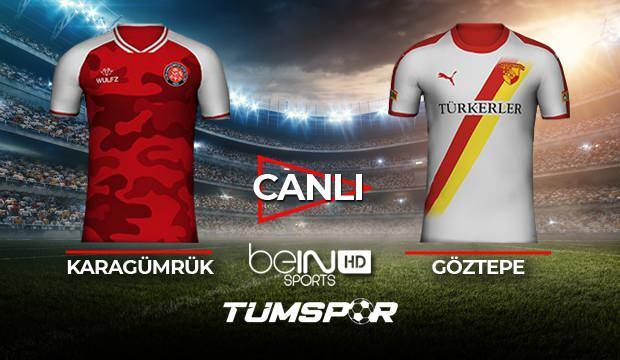 Karagümrük Göztepe maçı canlı izle! BeIN Sports Karagümrük Göztepe maçı canlı skor takip