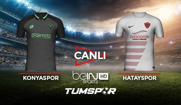 Konyaspor Hatayspor maçı canlı izle! BeIN Sports Konya Hatay maçı canlı skor takip!
