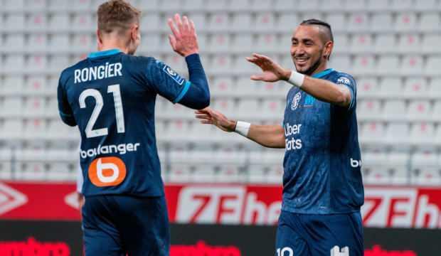 Marsilya, Reims deplasmanında 3 golle kazandı!