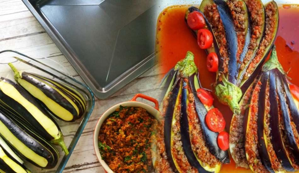 Patlıcanlı yelpaze kebabı nasıl yapılır? En kolay yelpaze kebabı tarifi