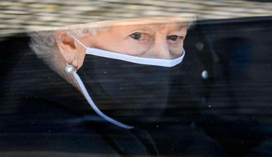Prens Philip'in cenazesinde dikkat çeken Kraliçe Elizabeth detayı