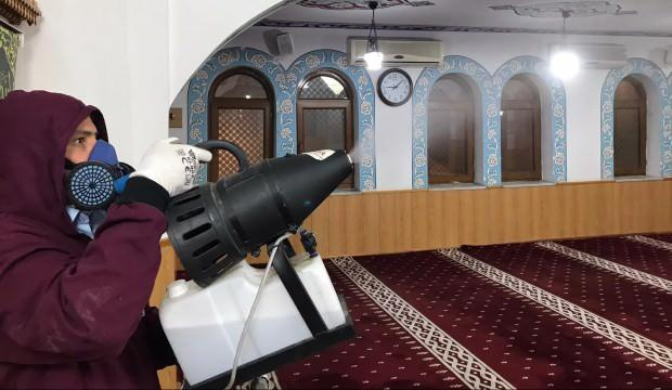 Ramazana özel camilere ücretsiz dezenfekte