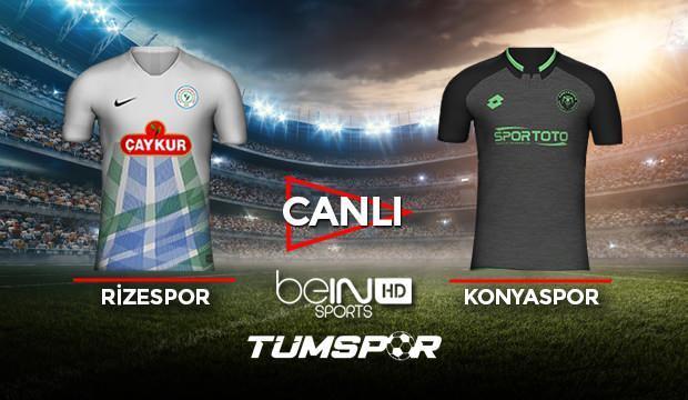 Rizespor Konyaspor maçı canlı izle! BeIN Sport Rize Konya maçı canlı skor takip!
