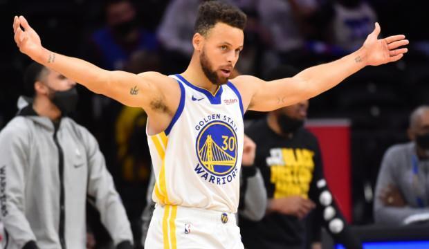 Stephen Curry alev aldı Golden State kazandı