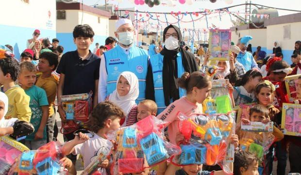 TDV, İdlip'te ramazan sevincine ortak oldu