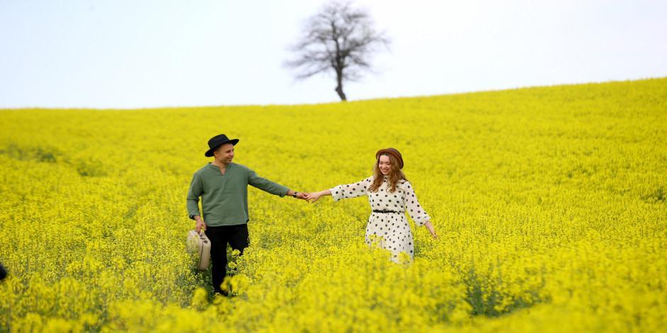 Trakya'nın 'Altın sarısı' doğal platolarında agro turizmi dönemi
