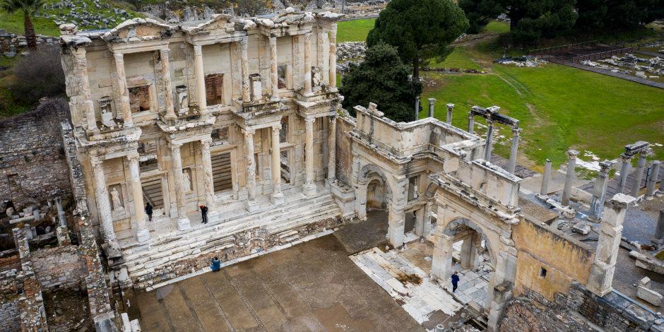 Tüm görkemiyle Ege'nin antik kentleri: Efes, Laodikya ve Afrodisyas