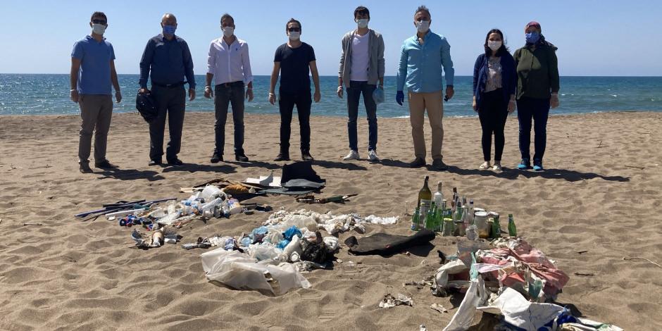 Turizm merkezi Antalya'da ıslak mendik rezaleti