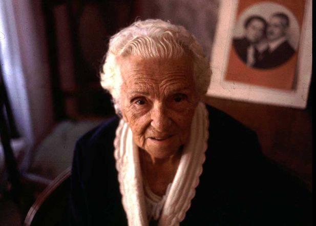 Hayriye Talât Hanım, 1982 Ekim'inde, son günlerinde...