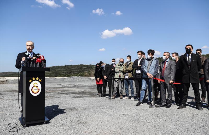 Galatasaray Başkanı Mustafa Cengiz lansman günü açıklamalarda bulunmuştu