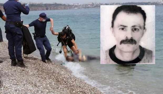 Antalya'da su altına dalan turist ceset buldu