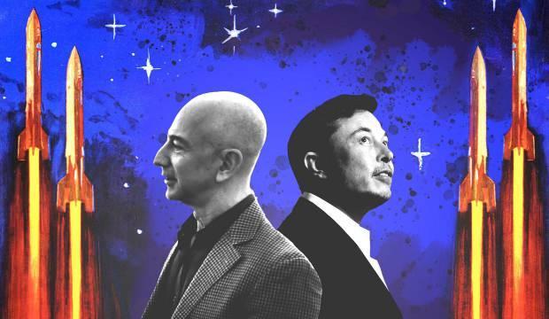 Bezos'un şirketin'den NASA'ya SpaceX itirazı