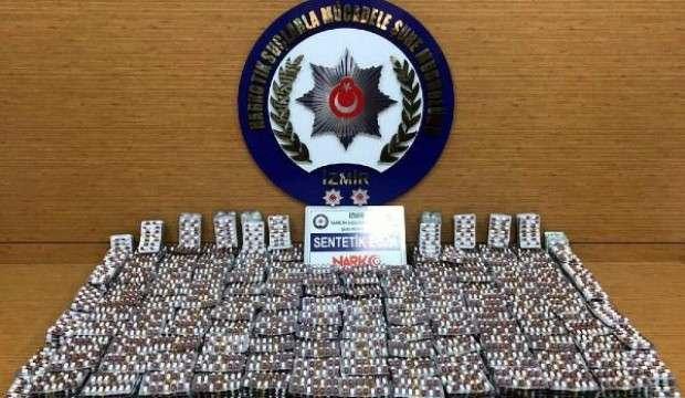 İzmir'de, 1 hafta süren  uyuşturucu  operasyonunda 16 tutuklama