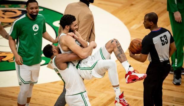 Jayson Tatum 60 sayı attı Celtics kazandı!