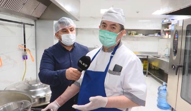 Kanal 7 Medya Grubu'nun lezzetli yemekleri bu mutfakta pişiyor