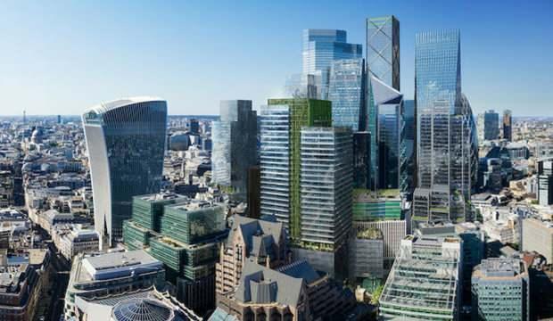 Londra finans merkezinde koronavirüs dönüşümü: Ofisler konut olacak
