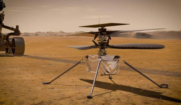 Mars helikopteri 4.uçuşunu 117 saniyede tamamladı
