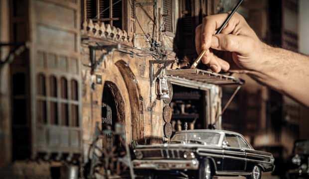 Minyatür ustası Abdulrahman Eid, İstanbul'a yerleşiyor