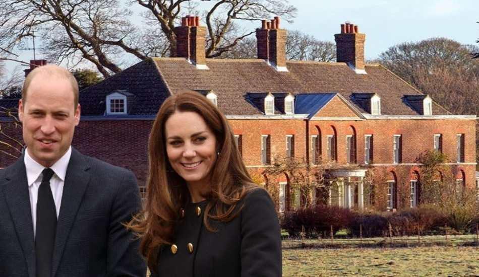 Prens William ve eşi Kate Middleton'ın evine Denizli mermeri!