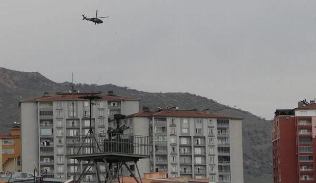 Şırnak'ta askeri hareketlilik