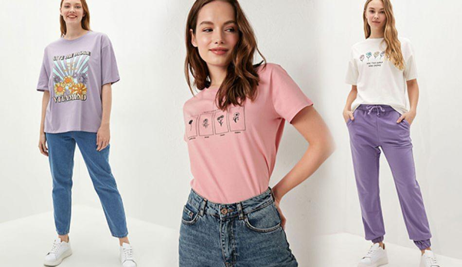 2021 yazlık tişört modelleri neler! En güzel kadın tişört modelleri ve fiyatları