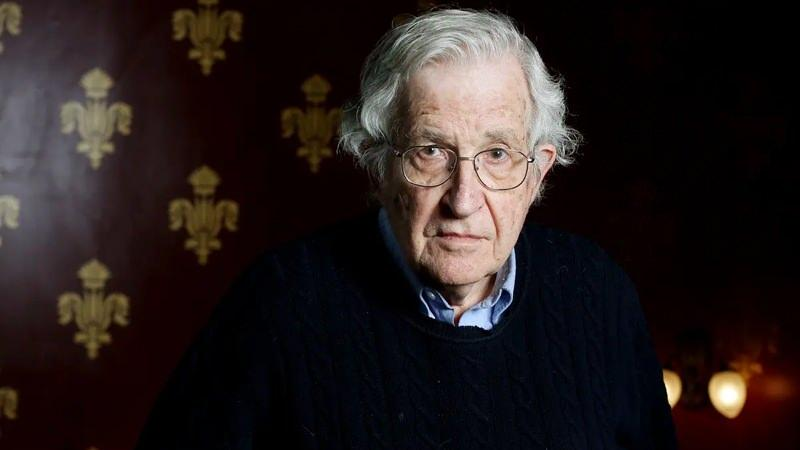 Amerikalı filozof Noam Chomsky