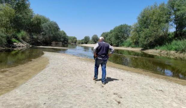 İlk kez böyle görüntülendi, Büyük Menderes Nehri kurudu