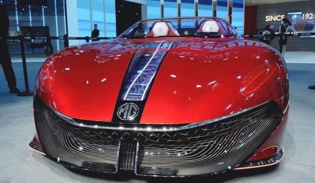 MG'nin spor otomobili Cyberster görücüye çıktı