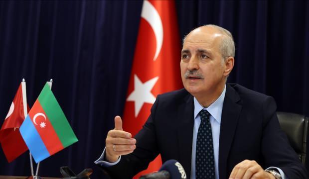AK Parti Genel Başkanvekili Kurtulmuş, Yeni Azerbaycan Partisi ile konferansta konuştu