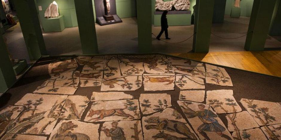 Apartmanın altında mozaikler bulundu: Tam 2000 yıllık!