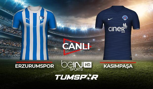 Erzurumspor Kasımpaşa maçı canlı izle! BeIN Sports Erzurum Paşa maçı canlı skor takip!