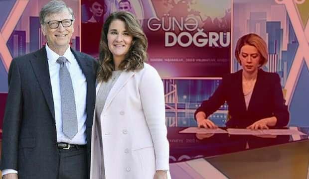 Gates çiftinin boşanmasına Azerbaycanlı spikerin yorumu: Adam koyabilse avrada çip koyar
