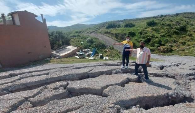 Harmandalı'nda yarıklar nedeniyle tahliye edilen ev sayısı 6'ya yükseldi!