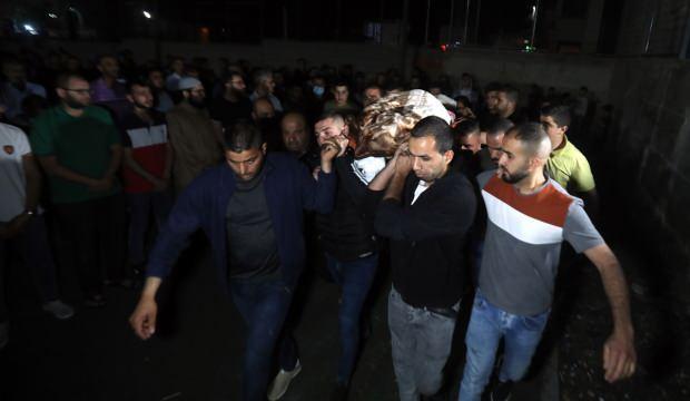 Terör devleti İsrail, Filistinli şehit kadının naaşını 5 gün sonra teslim etti