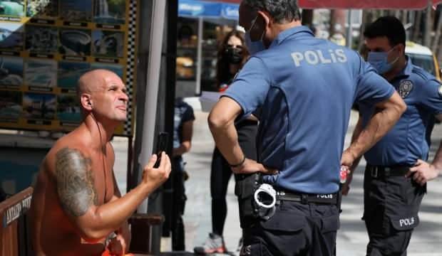 Kadın polise ahlaksız teklifte bulunan turist hakkında karar!