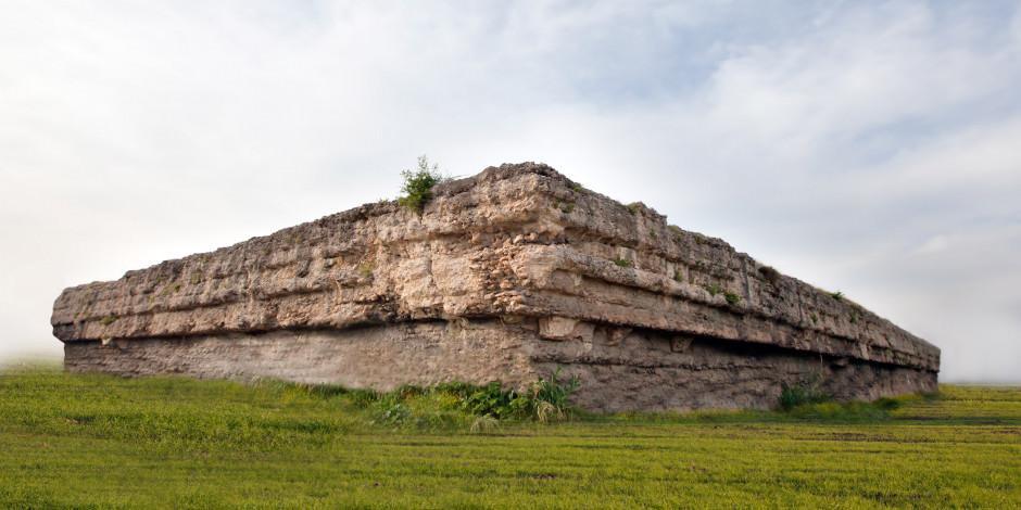 Mersin'in en büyük tarihi mabedi: Donuktaş Roma Tapınağı