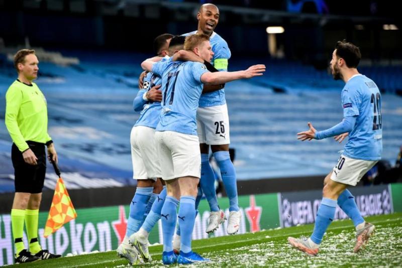 Manchester City, tarihinde ilk kez Şampiyonlar Ligi finaline yükseldi.
