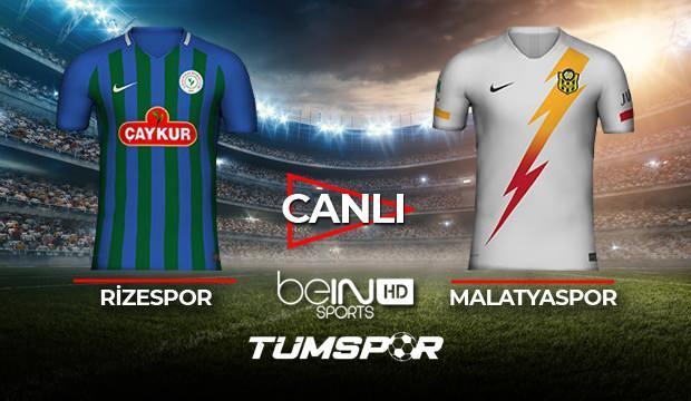 Rizespor Yeni Malatyaspor maçı canlı izle! BeIN Sports Rize Malatya maçı canlı skor takip!